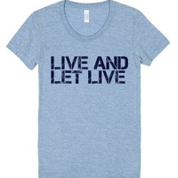 Live and Let Live Juniors Athletic