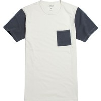 Tavik Morton Short Sleeve T-Shirt - Mens Tee - Natural