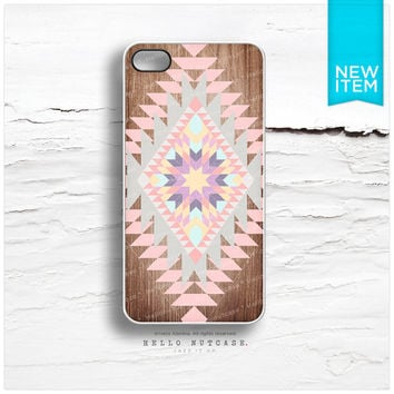 iPhone 4 and iPhone 4S case Tribal Aztec Navajo Geometric Style Pattern I85