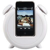 MP3 Alarm Clock Docking Station and Speakers in Back to School | Crate&Barrel