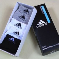Adidas Fashion Popular Women Men Casual Cotton Socks Sport Socks Stockings I