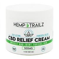 Hemp Trailz CBD Relief Cream