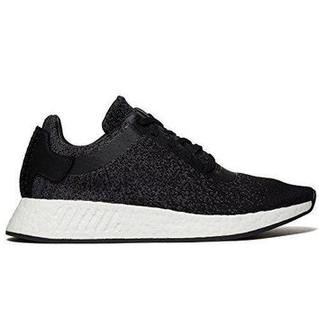 CP9550_12 adidas x Wings + Horns Mens NMD R2 Primeknit Wool Black/Grey CP9550