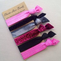 The Shelby Elastic Hair Tie Ponytail Holder Collection by Elastic Hair Bandz