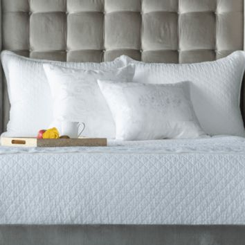 Emily Quilted Linen Bedding by Lili Alessandra