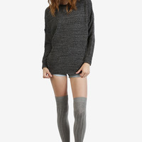 Rainer Oversized Sweater - Marble Grey