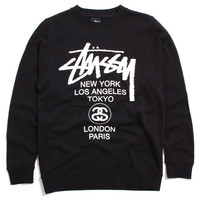 World Tour Crewneck Sweatshirt Navy
