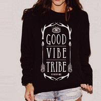 Good Vibes Tribe Sweater