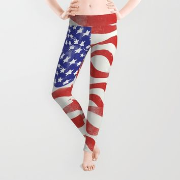 United States Flag - USA Leggings by All Is One