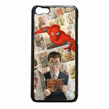Reading marvel comic 480ec655-2a50-4d56-ac97-5aee0ad48e26 FOR iPhone 5C CASE *NP*