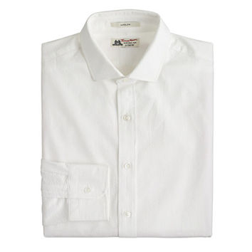 Thomas Mason For J.Crew Ludlow Shirt In Seersucker