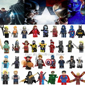 Deadpool Dead pool Taco Legoing Super Heroes Figures Iron Man Thanos Thor Captain America  Blocks Toys Legoings Marvel Avengers Infinity War AT_70_6