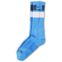 Nike Skateboarding Elite Dri-Fit Blue Striped Crew Socks