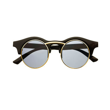 Round Unisex Retro Steampunk Fashion Sunglasses R3250