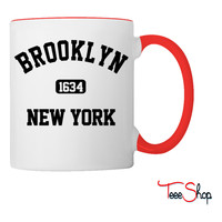brooklyn new york Coffee & Tea Mug