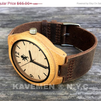 SALE Read Wood Watch. Mens Watch. Engrve Watch. Personalized Watch. Mens. Mens Watches. Mens Personalized Watch. Chicago Face. Kavemen.