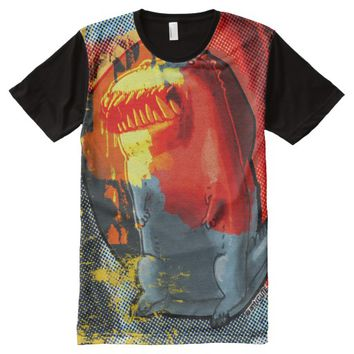 born to kill monster All-Over print t-shirt