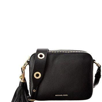 Michael Michael Kors Brooklyn Leather Camera Bag