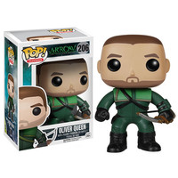 Oliver Queen Arrow TV Series Pop Heroes Vinyl Figure