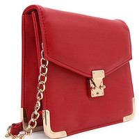 With Love From CA Half Chain Small Crossbody Bag at PacSun.com