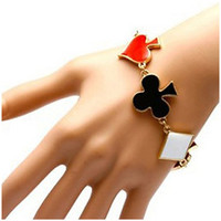 Card Suit Bracelet - Poker Bracelet