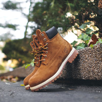 "Timberland 6"" Waterproof Premium Boot - Rust"