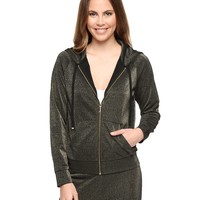 Gold Dust Metallic Lurex Relaxed Jacket by Juicy Couture,