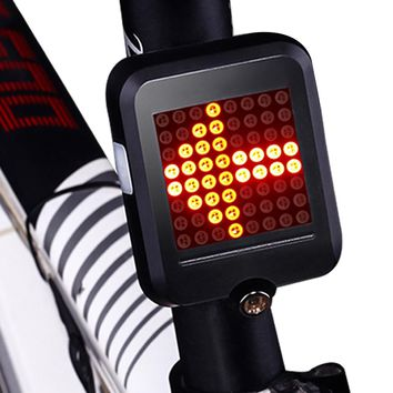 Bicycle Light USB Charging Rechargeable Bicycle Direction Indicator Tail Light Led Turn Signals MTB Bike Safety Warning Light