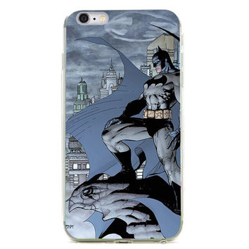 "The Dark Knight TPU Silicone Case for Iphone 6/6s PLUS (5.5"")"