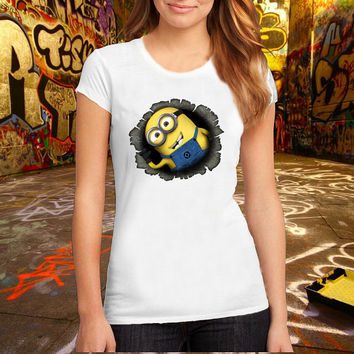 Minions-Despicable T Shirt Printed T Shirt, Women T Shirt, (Various Color Available)