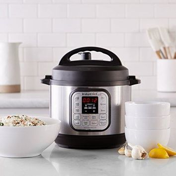 Instant Pot Duo Mini 3 Qt 7-in-1 Multi- Use Programmable Pressure Cooker, Slow Cooker, Rice Cooker, Steamer, Sauté, Yogurt Maker and Warmer
