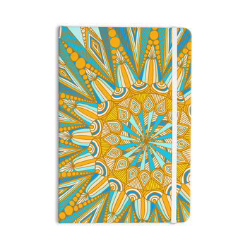 "Art Love Passion ""Here Comes The Sun"" Blue Yellow Everything Notebook"