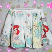 The Little Mermaid Highwaist Skirt