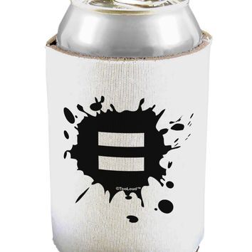 Equal Paint Splatter Can / Bottle Insulator Coolers by TooLoud