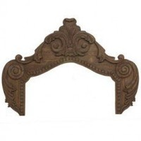 Guildmaster Genoese Over Door in Distressed Wind Swept - 160530 - Decor