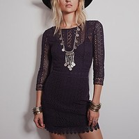 Free People Womens Heartbreaker Dress - Deepest