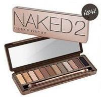 Free shipping Newest Cosmetic Urban Decay Naked 2 Eyeshadow 12 colors Nude Look Palette 12x1.3g-in Eye Shadow from Beauty & Health on Aliexpress.com