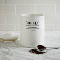 Utility Coffee Canister