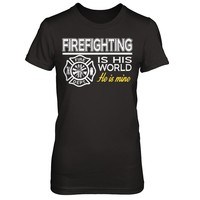 Firefighting Is His World