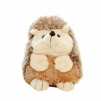 New Style Hedgehog Zoo Toy Plush Stuffed Animals Doll Cute Play Educational Anti-stress Toy For Children Jouet Enfant @6204