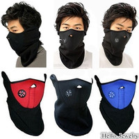 WARMER SKI SNOWBOARD MOTORCYCLE PROTECTION VELCRO NEOPRENE FACE MASK WINTER NECK = 1705485572