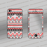 Iphone 4 4s Skin - Tribal Pattern