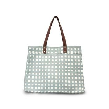 NEW! Carryall Tote Plus - Flores