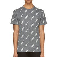 Paul Smith Jeans Grey Lightening T-shirt