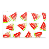 "Sreetama Ray ""Summer Fun"" Watermelon Aluminum Magnet"