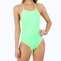Dolfin Solid Brights Reversible Crossback at SwimOutlet.com