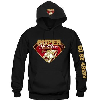 "Super SF 49ers Hoodie ""3 Prints"" Sports Clothing"
