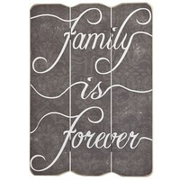 Family Is Forever Wall Decor