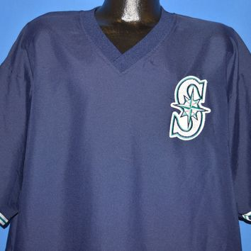 90s Seattle Mariners Pullover Jersey t-shirt Extra Large