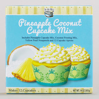In the Mix Pineapple Coconut Cupcake Mix with Aprons